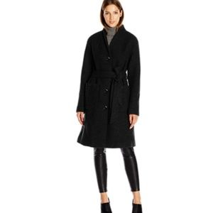 ELLEN TRACY Outerwear Women's Boiled Wool Button